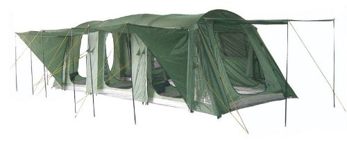 Gettysburg 12 Family Camping Tunnel Tent