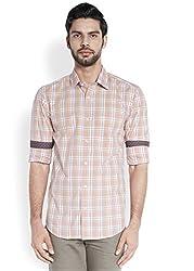 ColorPlus Medium Orange Men's Shirt