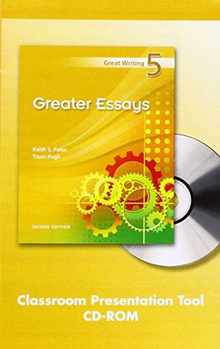 Great essays 2nd edition folse