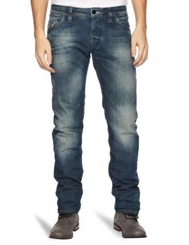 G-Star Attacc Low Str Straight Men's Jeans Medium Agd T.P. W28INxL32IN