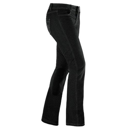 Irideon Ladies' Denim Boot Cut Breech 24 R Black