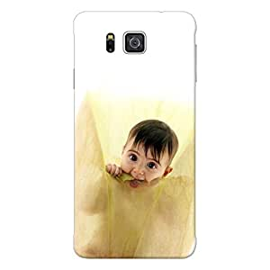 Inkif Printed Designer Case For Samsung Galaxy Alpha G850 Multi-Coloured