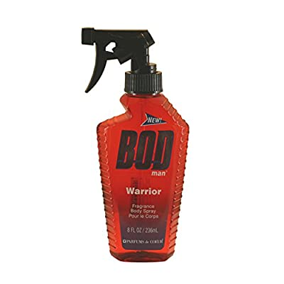 Parfums de Coeur Bod Man Warrior Fragrance Body Spray for Men, 8 Ounce
