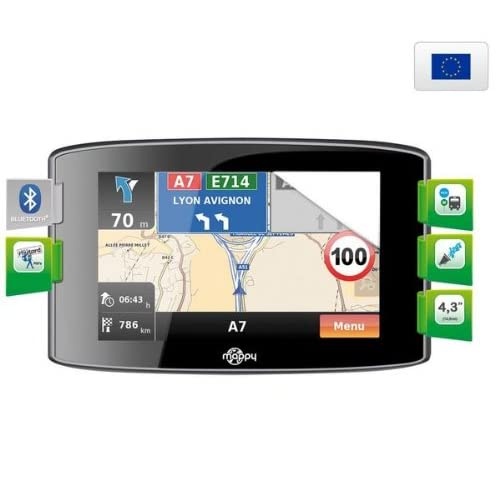 Navigation GPS MAPPYITIS436NOIREUROPE GUIDE DU ROUTARD