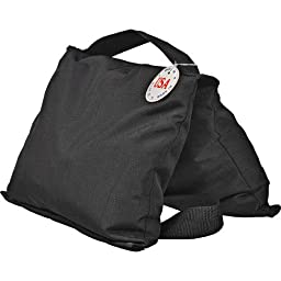 Impact Saddle Sandbag - 35 lb (Black Cordura)