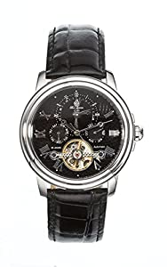 Burgmeister BM128-122 - Reloj de pulsera hombre, piel, color negro