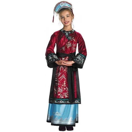 Elizabeth Empress Gown Child Costume Small Clothes Size 4-6