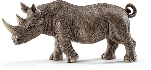 Schleich Rhinoceros Figurine Toy Figure - 1