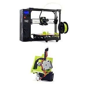 LulzBot TAZ 6 3D Printer with TAZ Flexystruder Tool Head V2