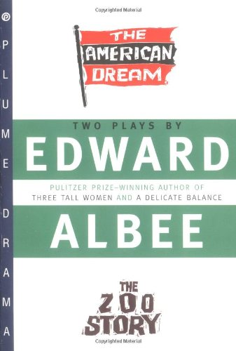 The American Dream and Zoo Story, Albee, Edward