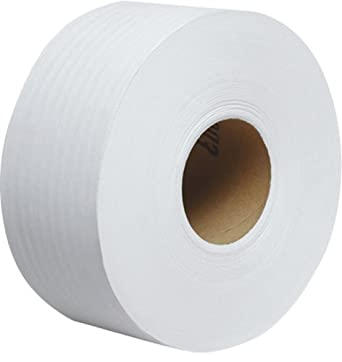 "Kimberly-Clark Scott 67223 Recycled Fiber JRT Jr Jumbo Roll Tissue, 2000' Length x 3-35/64"" Width, White (Case of 12)"