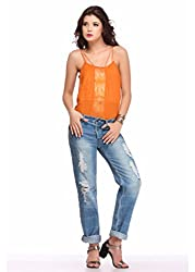 Orange Love Top