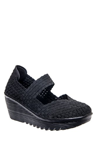 Bernie Mev Lulia Mid Wedge Shoe