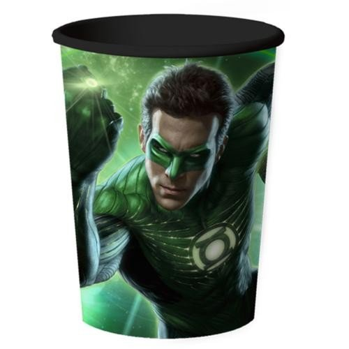 Green Lantern Party 16 oz Plastic Stadium Cup