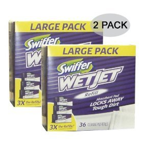 Amazon Com Swiffer Wet Jet Pad Refills 72 Ct
