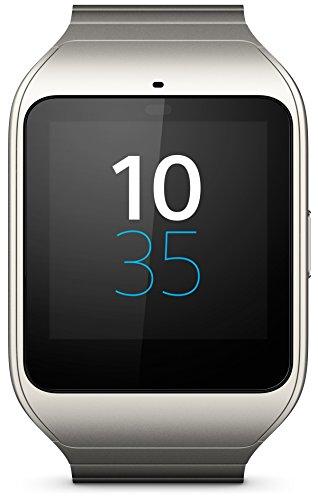Sony Smart Watch 3 - Reloj inteligente (Quad-core 1.2 GHz, 512 MB de RAM, Stainless Steel, GPS propio) gris metálico