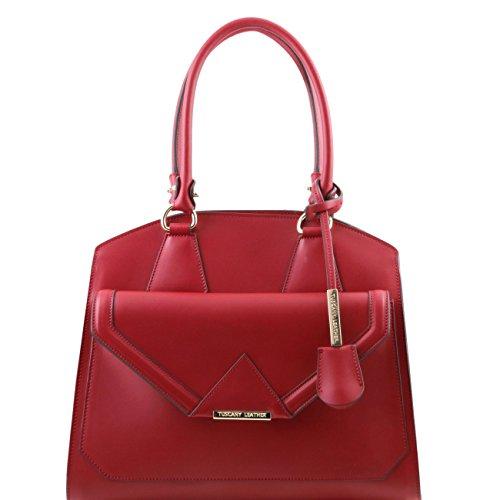 tuscany-leather-vesta-sac-a-epaule-en-cuir-ruga-avec-poche-frontale-rouge