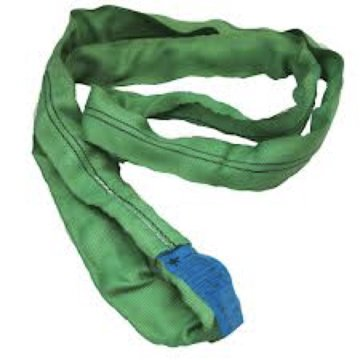 30 Ft. Green Polyester Endless Roundsling 5,300Lb Vertical Load Limit Round Sling