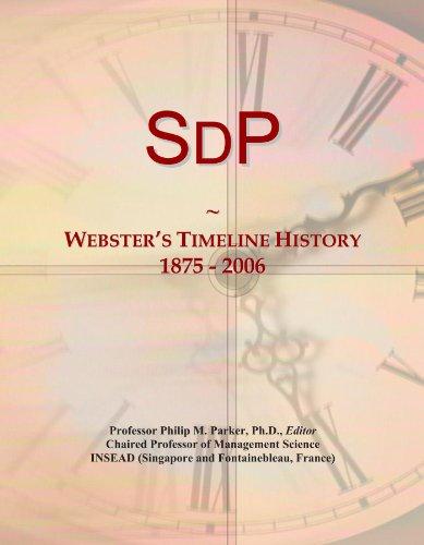 SdP: Webster's Timeline History, 1875 - 2006