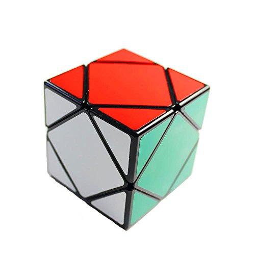 GoodPlay New Shengshou Skewb Puzzle Cube Black Angle Puzzle Cube