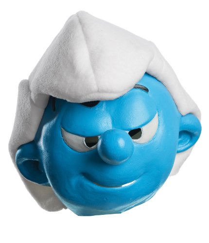 The Smurfs Movie Child's Mask, Hefty - 1