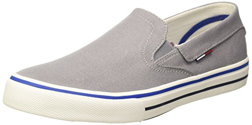 Tommy Hilfiger V2385IC 3D_1 Scarpe Low-Top, Uomo, Grigio (Light Grey 051), 41
