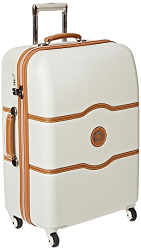 delsey-luggage-chatelet-24-inch-spinner-trolley-champagne-one-size