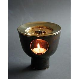 Incensario Aurum Oro Bronce