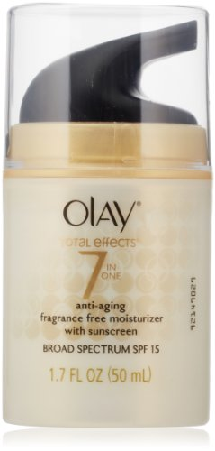 Olay Total Effects 7-in-1 Anti-Aging UV Moisturizer, SPF 15, ...