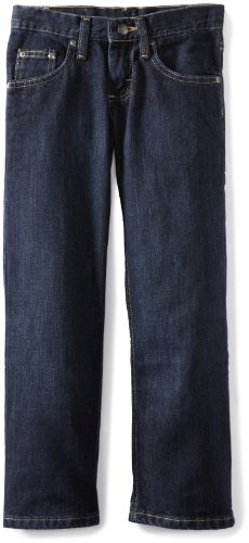 Lee Big Boys' Premium Select Relaxed Fit Straight Leg Jean, Ink, 14 Slim