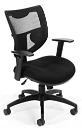 OFM 581 Executive Mesh Back Chair, Black