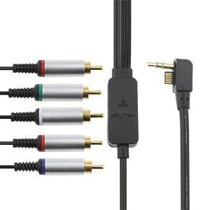 Komponentenkabel für Sony PSP 2000 3000 Slim & Lite Konsole AC TV Fernsehkabel Component Kabel PSP HD AV Bildübertragung auf den Fernseher