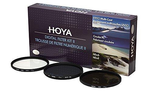 Hoya DFK67 Jeux de Filtres (UV, PLC, ND) Ø 67.0 mm