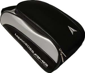 Buy mercedes amg f1 golf sa188 shoe bag black silver for Mercedes benz golf bag