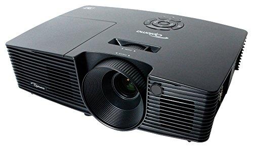 Optoma-Projector DS335, 3000 lumens, S-VGA HD, HDMI, 3D, colore: nero