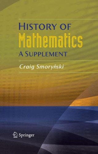 History of Mathematics: A Supplement