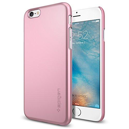 Spigen iPhone6s ケース, シン ・フィット [ パーフェクト フィット ] アイフォン 6s /6 用 (iPhone6S, メタリック・ローズSGP11787)