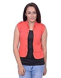 Snoby Peach Half Jacket (SBY11015)