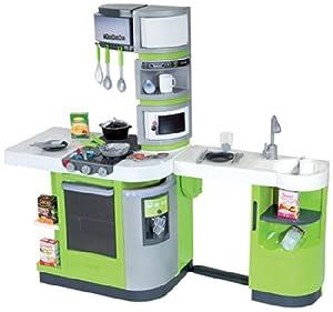 Smoby 024252 jeu d 39 imitation cuisine cook master vert amazon f - Les jouets de cuisine ...