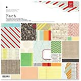 Basic Grey Fact & Fiction 12x12 Facts Paper Pad