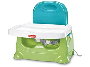 Fisher-Price Booster Seat, Green/Blue