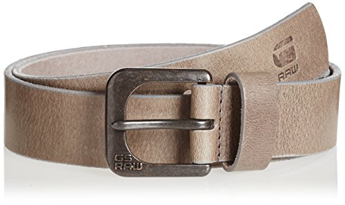 G-Star - Cintura Zed Belt, uomo, Grau (gs Grey/raw Brown 5897), 80