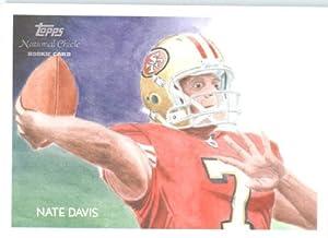 2009 Topps National Chicle #C32 Nate Davis San Francisco 49er