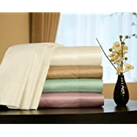 Empress Silk Cotton/Silk Satin Sheet Set