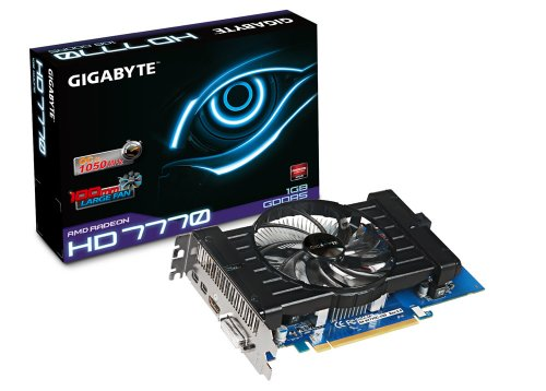GIGABYTE グラフィックボード Radeon HD7770 1GB PCI-E GV-R777OC-1GD REV2.0/A