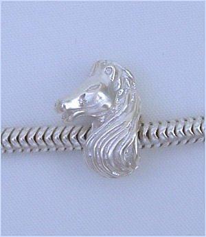 HORSE 925 Sterling Silver Charm Bead for Troll Biagi Pandora