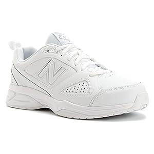 New Balance Men's MX623V3 Training Shoe, White, 7.5 D US