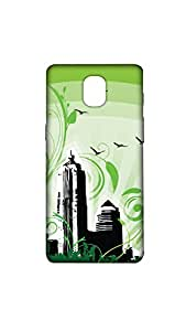 I Love My City Designer Mobile Case/Cover For one plus 3