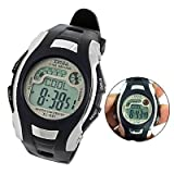 Como Children Black Band Wrist Watch Sports Digital Alarm Stopwatch