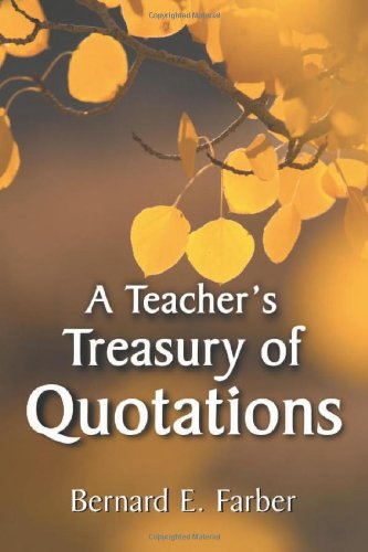 Teacher's Treasury of Quotations